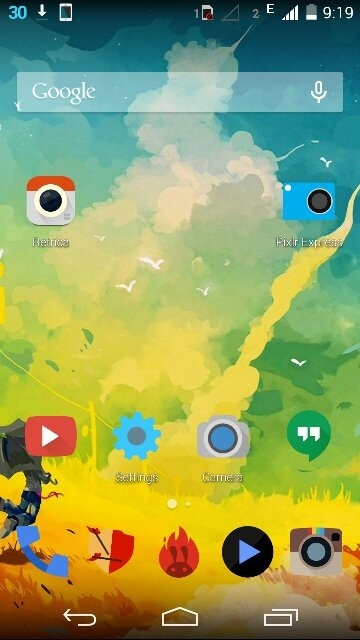Is there any Android apps that change wallpapers ...