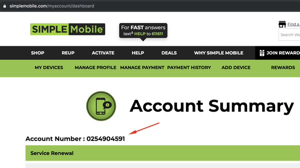 How to find my Simple Mobile account number - Quora