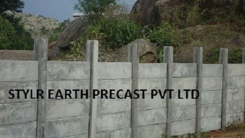 Pictures Of Types Of Precast Walls : How to construct a compound wall cheaply fence an area