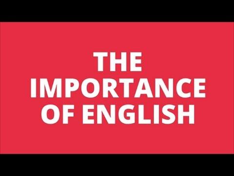 importance of english language essay points