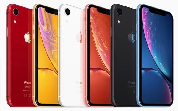 apple iphone 10r colours