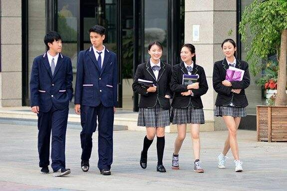 Why doesn't China have pretty school uniforms like Korea/Japan? - Quora