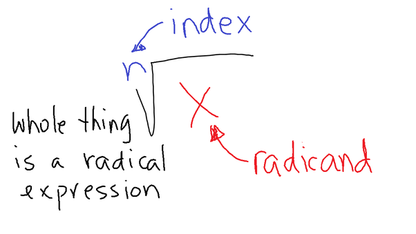 What Is A Radicand Radical And Index Of A Radical In Mathematics