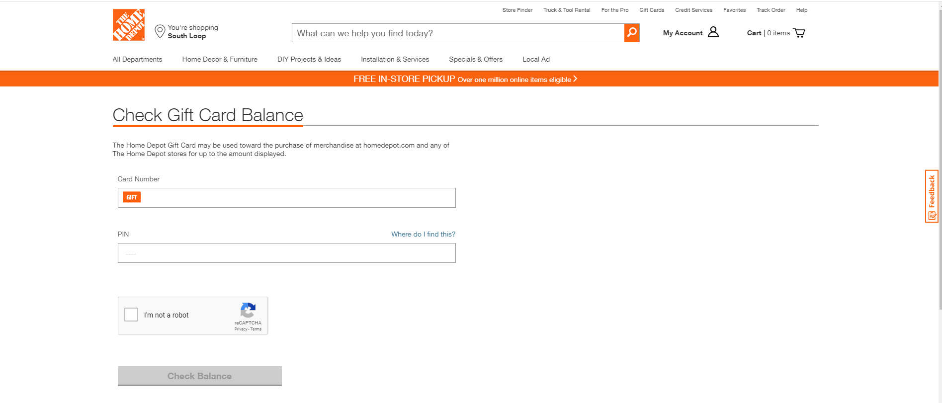 How to check the Home Depot store credit balance - Quora