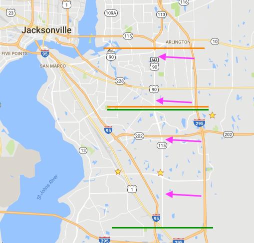 Town Center Jacksonville Fl: Is Southside Blvd. In Jacksonville, FL A Safe Area?