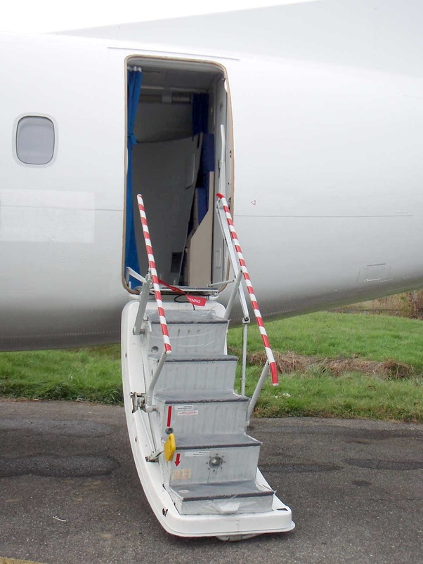 & How much does an airplane door weigh? - Quora