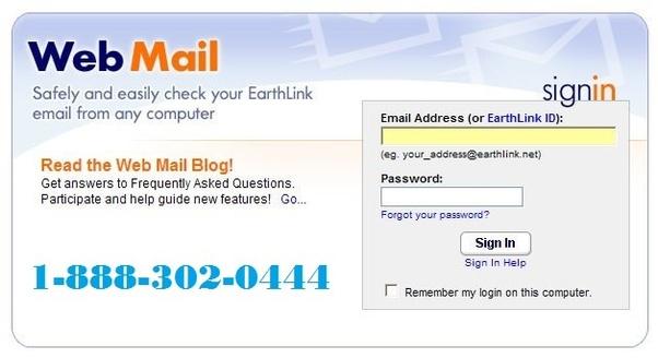 Earthlink email settings outlook