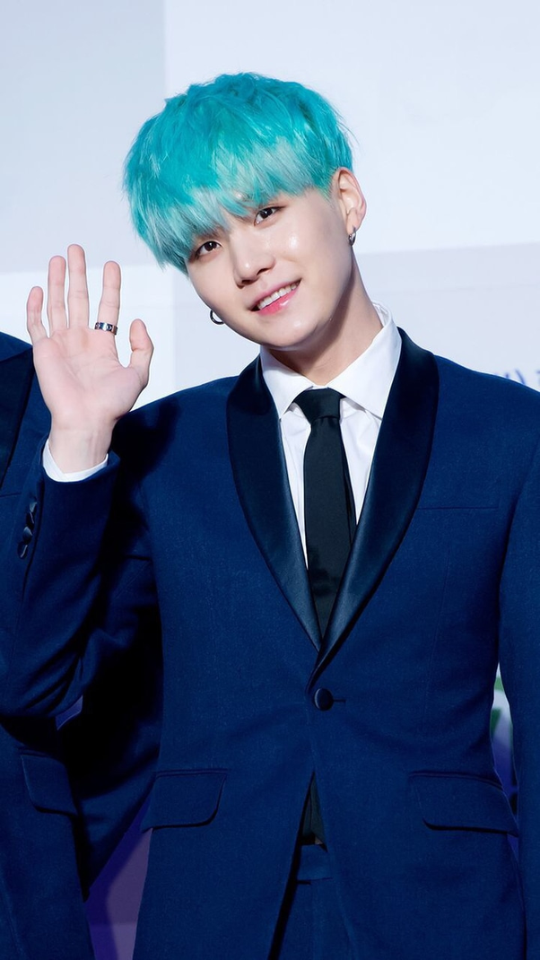 What Is The Name Of The Blue Hair Bts Quora