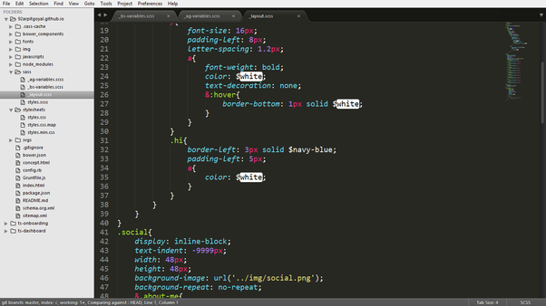 It Seems User Friendly And Simple Due To Its Remarkable Interface Sublime Text Editor Supports The Same Style As Code Markup