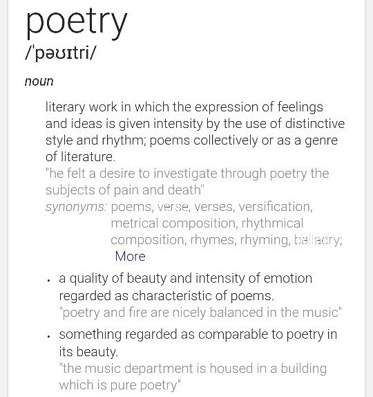 What Is The Difference Between A Poem And Poetry Quora