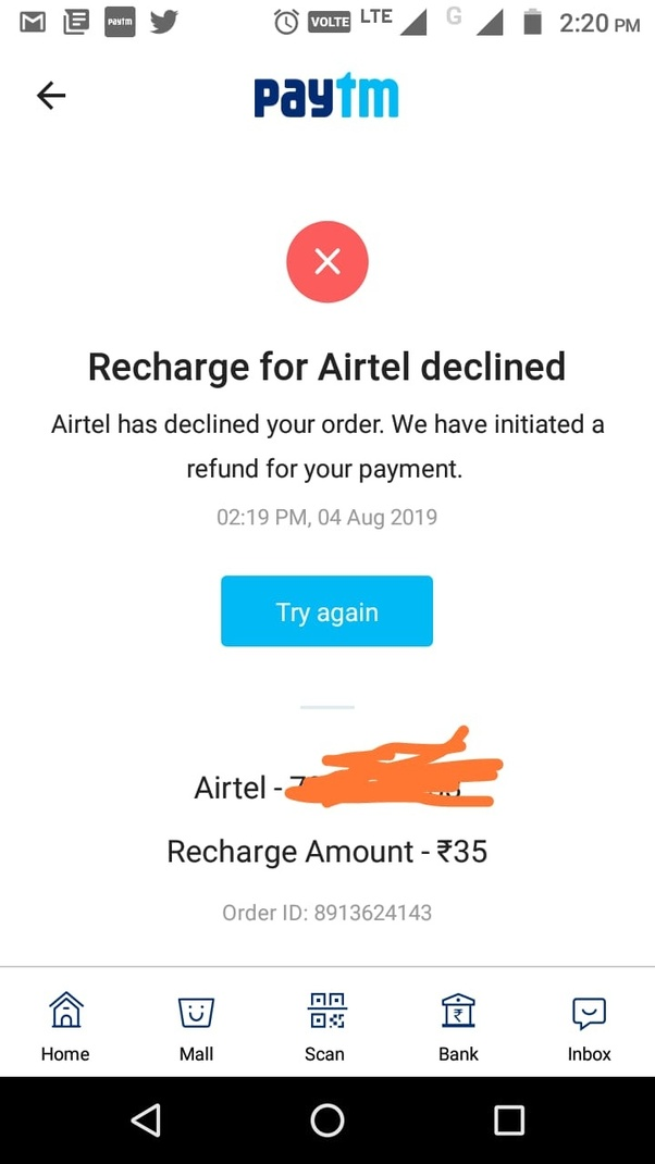 Is it mandatory to do FRC (1st recharge) in Airtel (ported