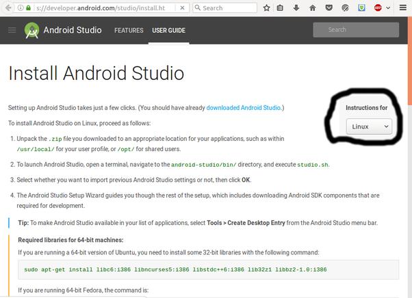 how to install android studio in ubuntu 16 04 quora