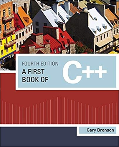 Where I can download solution manual of 'A First Book of C++