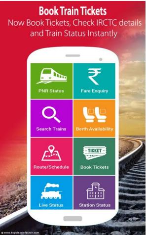 Irctc train ticket booking indian railways