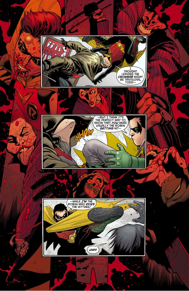 Who would win in a fight between Jason Todd Red Hood and Damian