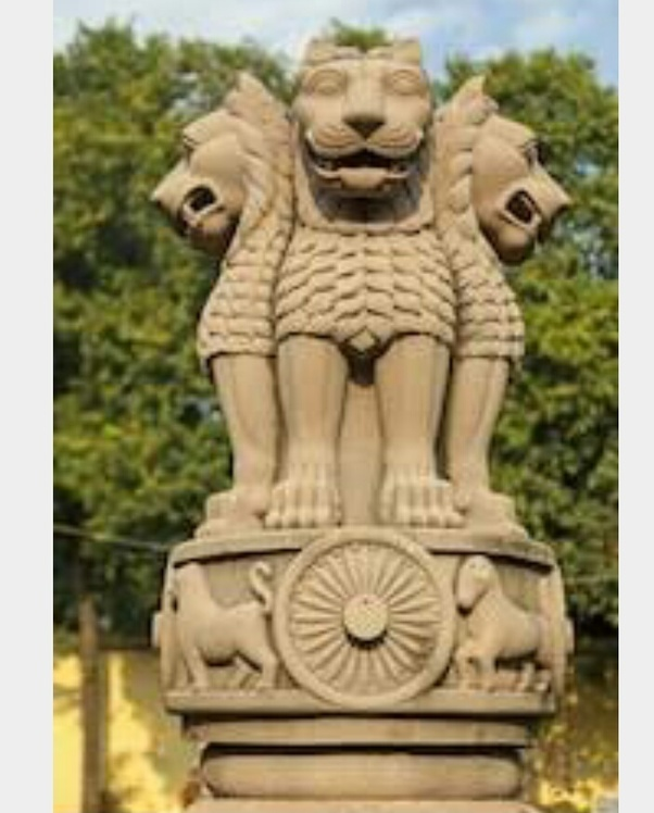 How many animals are seen in India's national emblem? - Quora