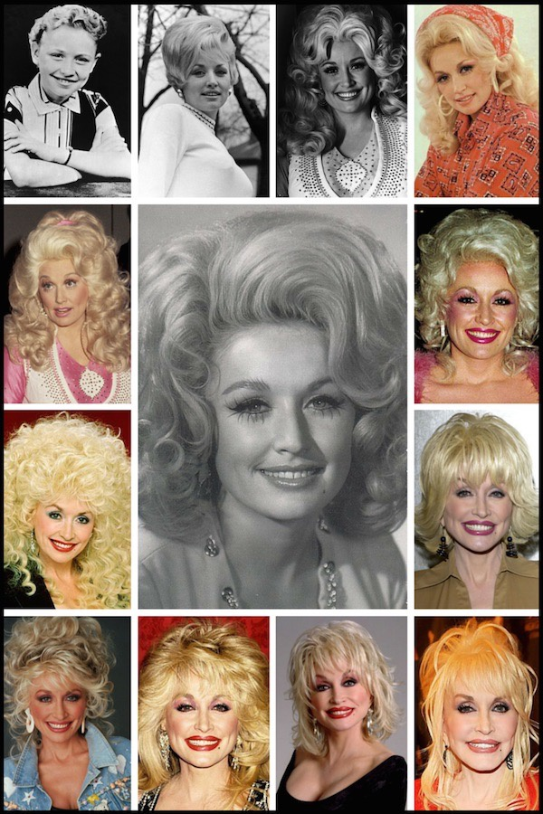 Does Dolly Parton wear hair wigs or is it her own hair? - Quora