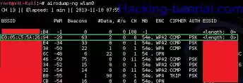 How does one hack a wi-fi network?