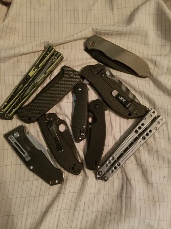 Why are butterfly knives, flick knives and knuckledusters