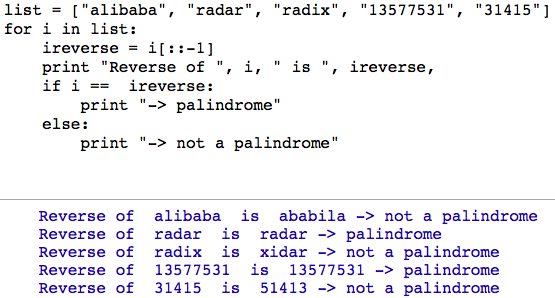 What Is Palindrome Number In Python Quora