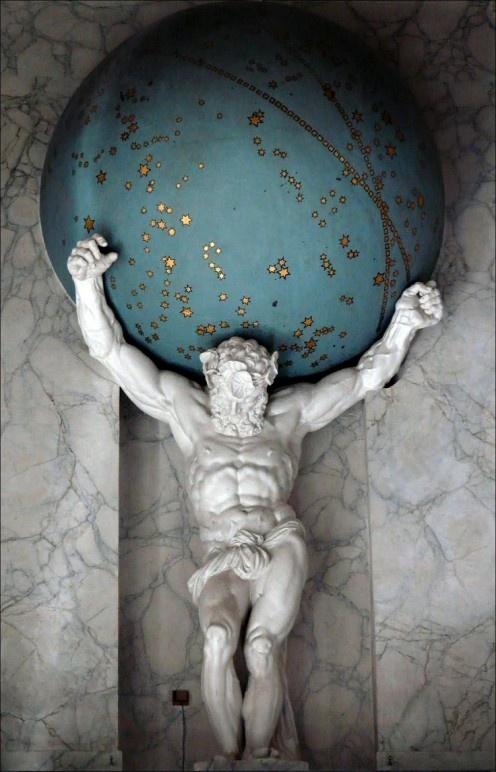 Doesn T Atlas Greek Mythology Hold Up The Sky Not The