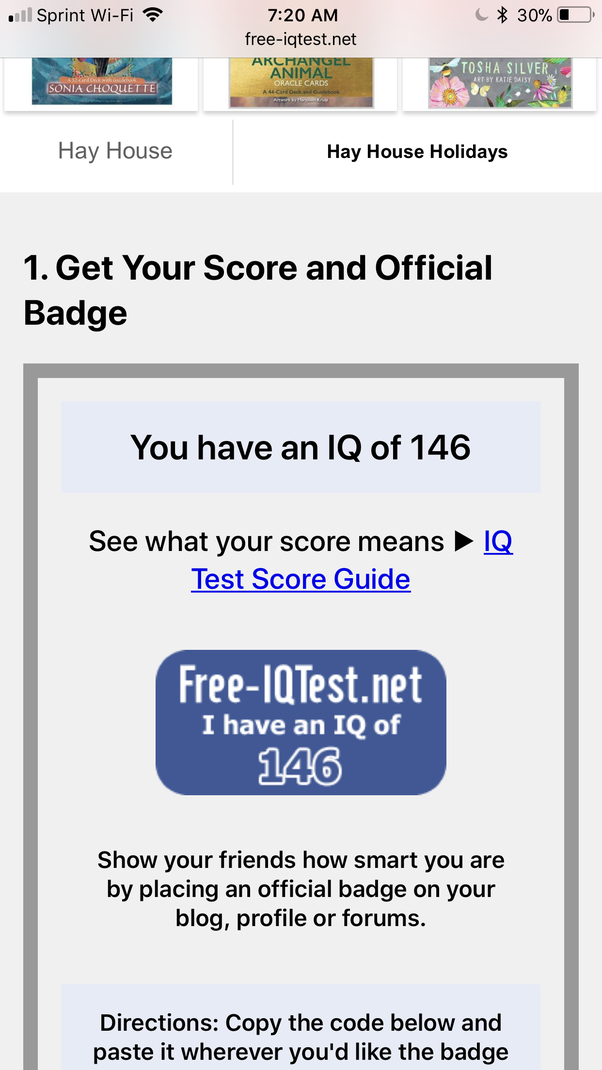 How reliable are online IQ tests? - Quora
