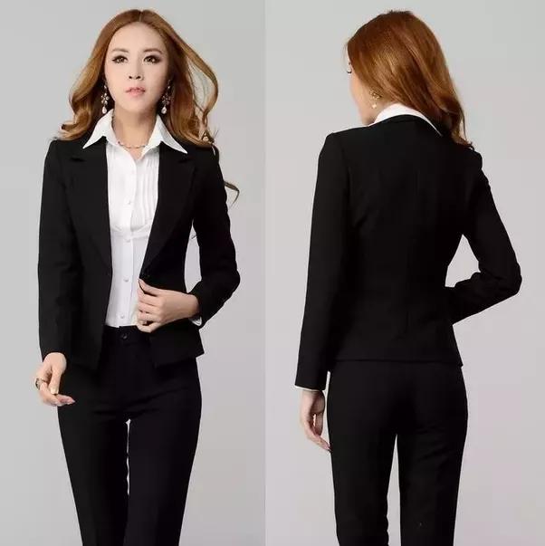Wearing black dress shirt to interview you