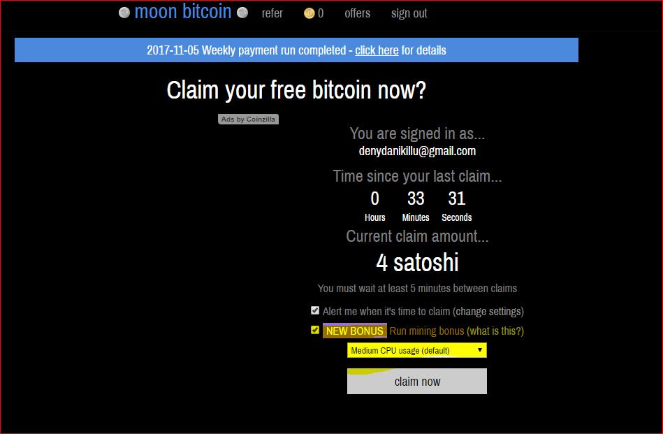 Free 100000 Satoshi