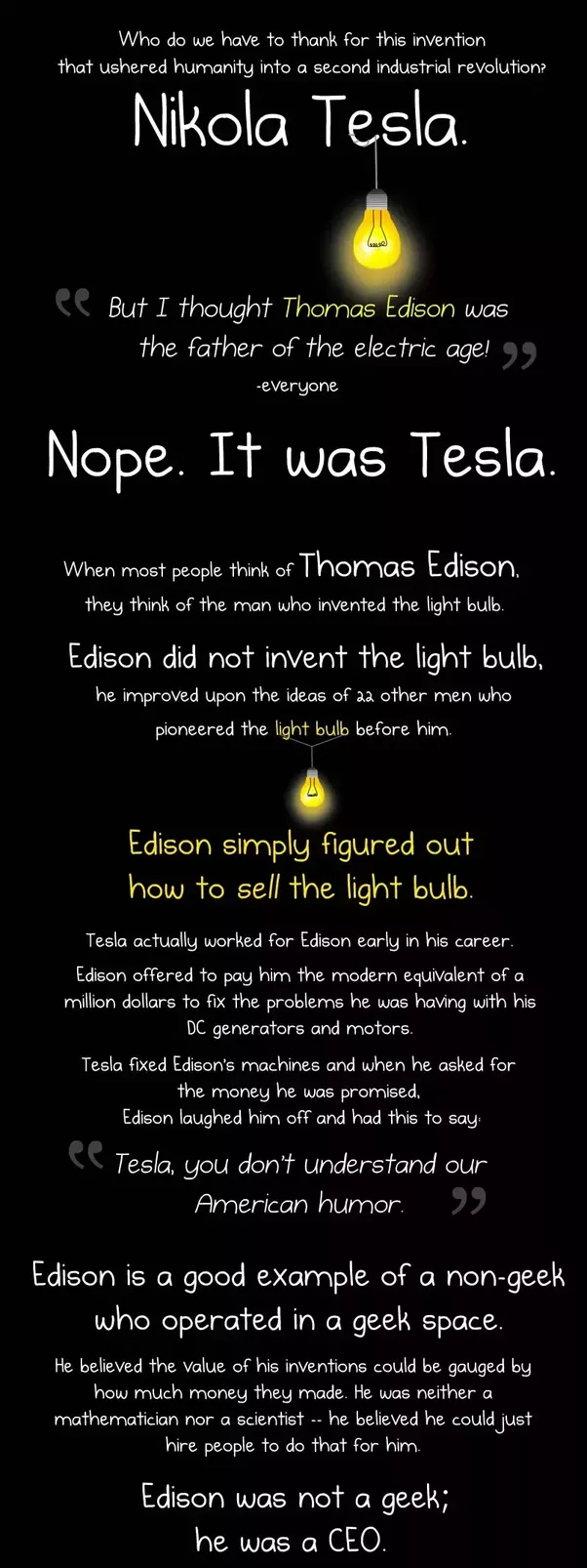 Edit Add Link Why Nikola Tesla Was The Greatest Geek Who Ever Lived