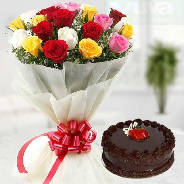 Send Wedding Gifts Online India: How To Arrange Cake And Flowers For My Girlfriend Birthday