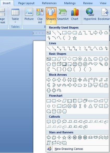 How To Draw Block Diagrams In Microsoft Word