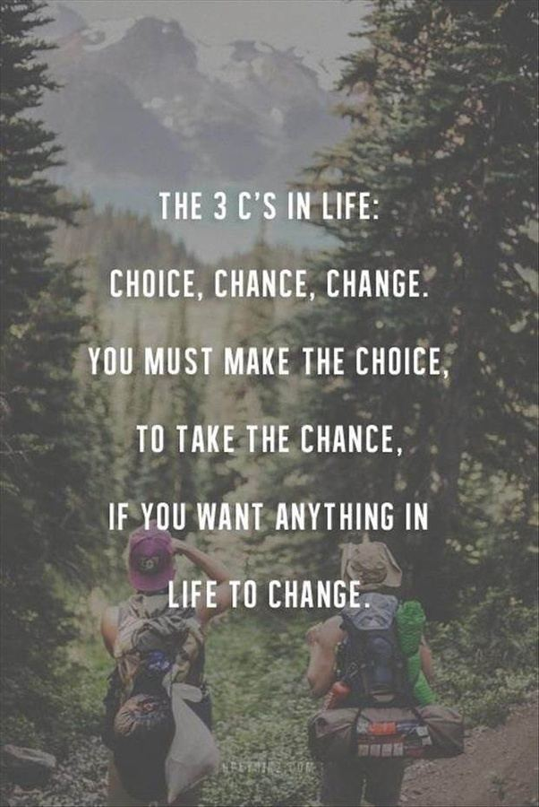 Inspirational Life Change Quotes