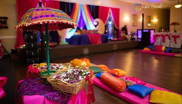 What Are All The Ideas You Have For A Mehendi Function Decoration