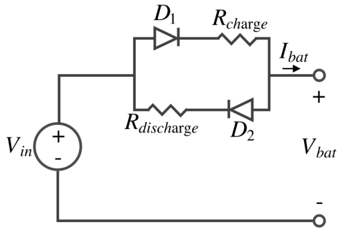what is the similarity between a battery and a capacitor
