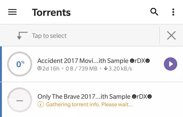 utorrent download slowing down