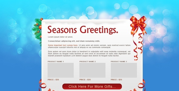 17 best christmas email templates collection bootatrap wordpress demo download features send your subscribers seasonal greetings for christmas new year commented and documented for easy extensive m4hsunfo