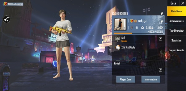 What S Your Pubg Mobile Id Or In Game Name Quora