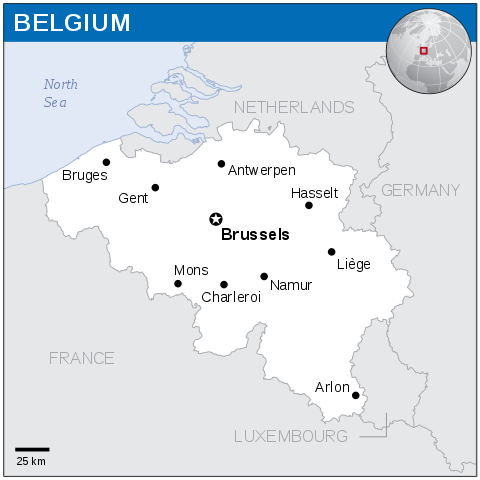 map of belgium and surrounding countries What Are The Neighbouring Countries Of Belgium Quora map of belgium and surrounding countries