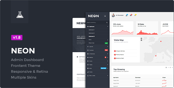 Collection of Awesome top 10 bootstrap admin th... - Bootstrap Theme ...