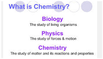 How does fundamental concepts of chemistry affect biology