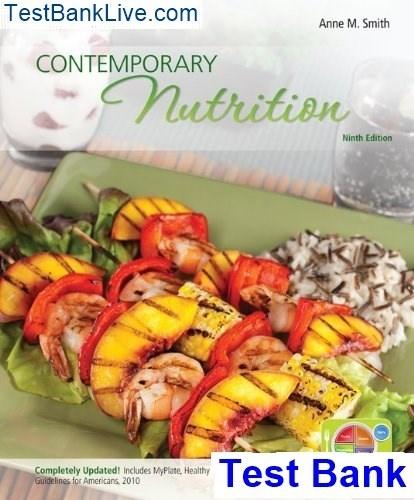 Contemporary Nutrition 9th edition