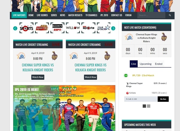 Where can I watch Cricket IPL 2019 for free in the UK? - Quora