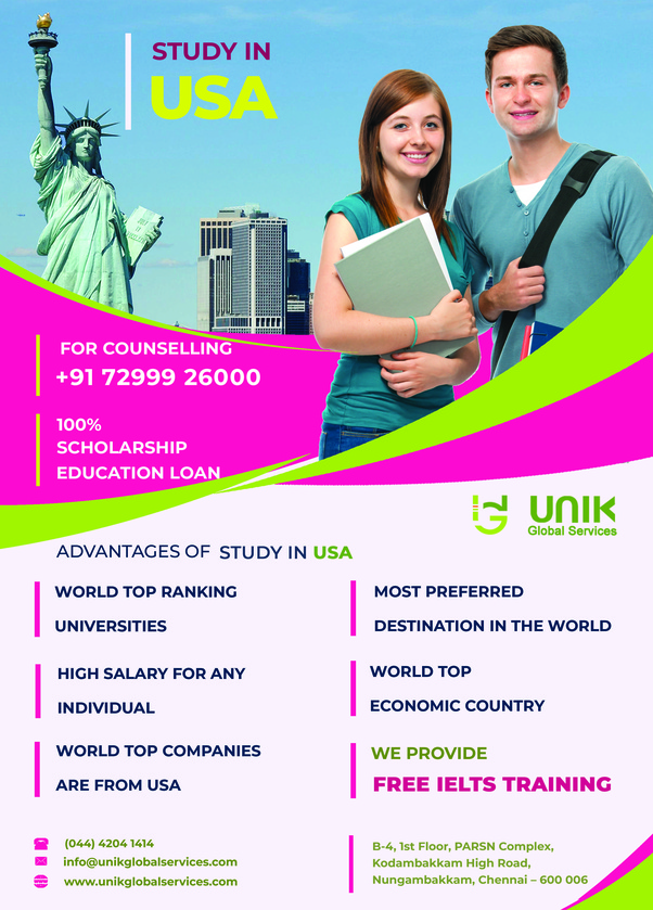 How to get a scholarship for study in the USA for free - Quora