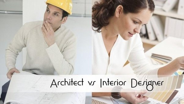 What is the difference between an interior architect and an interior