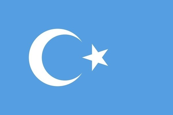 what is the meaning of the turkish flag in blue quora