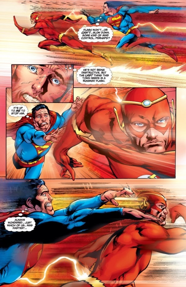 Who would win in a fight between Superman and the Flash ...