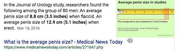 size man penis Average health