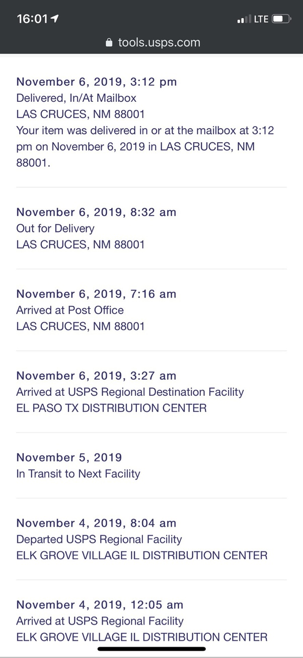 Why Don T Usps Tracking Numbers Show The Address That The Package Was Delivered To Quora