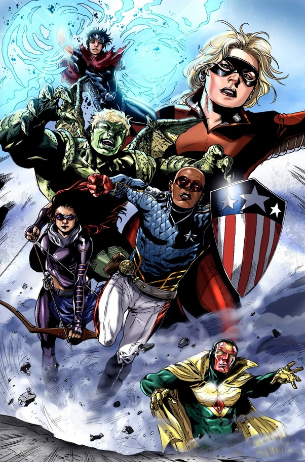 How would you implant the Next Avengers: Heroes of Tomorrow