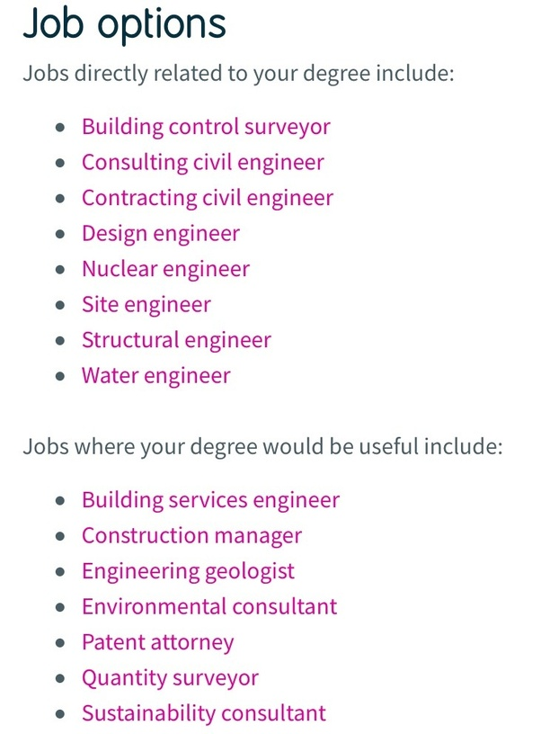 What Kind Of Job Opportunities Can We Have In Civil Engineering Quora